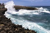 Rough Sea On Curacao