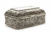 Closed Silver Coffer