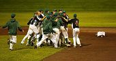 Canada Games Baseball Men Celebration