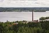 Panorama Of Tampere, Finland