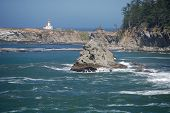 Cape Arago Lighthouse Oregon Coast