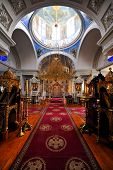 inside of a Greek Monastery on Mount Athos, Chalkidiki, Greece