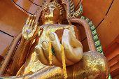 Buddha golden statue.