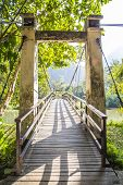 Bridge At Pha Suea National Park, Mae Hong Son, Thailand