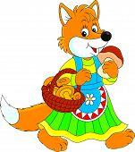 Fox mushroomer