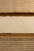 background of burlap hessian sacking and paper