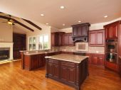 Luxury Home Kitchen Side Center Island