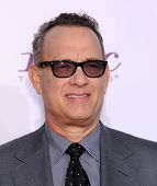 LOS ANGELES - JAN 16:  Tom Hanks arrives to the Critics' Choice Movie Awards 2014  on January 16, 2014 in Santa Monica, CA