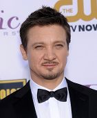 LOS ANGELES - JAN 16:  Jeremy Renner arrives to the Critics' Choice Movie Awards 2014  on January 16