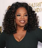 LOS ANGELES - JAN 16:  Oprah Winfrey arrives to the Critics' Choice Movie Awards 2014  on January 16, 2014 in Santa Monica, CA