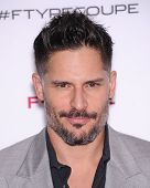LOS ANGELES - NOV 19:  Joe Manganiello arrives to the Jaguar F-TYPE Global Reveal Event  on November