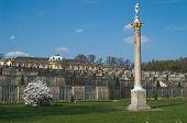 Sanssouci Palace - Terrace View, Potsdam, Germany poster