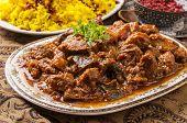 persian lamb ragout - khoresht-e badenjan