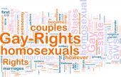 Gay Rights Word Cloud