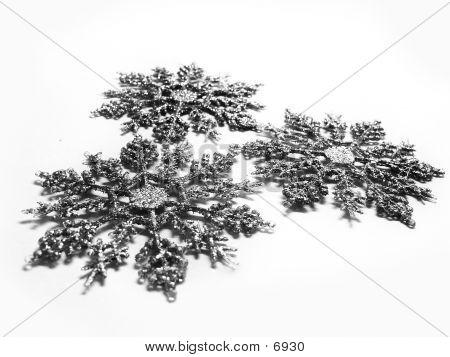 Snowflakes poster