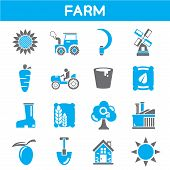 agriculture industry icons