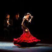 Maria Pages, spanish flamenco dancer.
