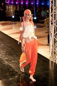 Fashion Show For Nancy Naguib Model 01 (on Runway)