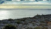 Coastline Near Fortaleza De Sagres, Portugal