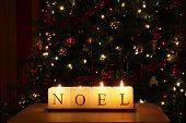 Noel Christmas candlelight