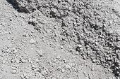 White And Grey Gravel Background.