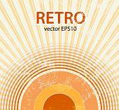 Retro starburst