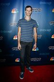 NEW YORK-JUL 30: Hand balancer Andrey Moraru attends the 'America's Got Talent' post show red carpet at Radio City Music Hall on July 30, 2014 in New York City.