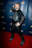 NEW YORK-JUL 30: Rollerblade dancer Juan Carlos attends the 'America's Got Talent' post show red carpet at Radio City Music Hall on July 30, 2014 in New York City.