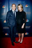 NEW YORK-JUL 30: Today Show hosts Matt Lauer (L) and Savannah Guthrie attend the 'America's Got Tale