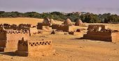 Old Part (citadel) Of Desert Town Mut In Dakhla Oasis In Egypt,