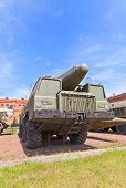 Soviet Rocket Launcher 2P120 Of Missile Complex Tr-1 Temp
