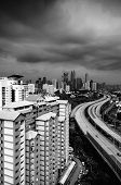 image of kuala lumpur skyline  - Kuala Lumpur  - JPG