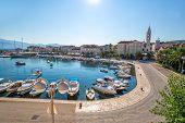 Supetar on Island Brac in Croatia