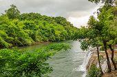 Kwai Noi River And Saiyok Noi Waterfall