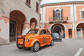 Tuned Vintage Car Fiat 500