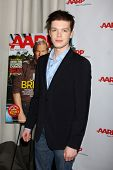 LOS ANGELES - AUG 1:  Cameron Monaghan at the AARP Luncheon IHO Jeff Bridges at the Spago on August