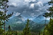 Longs Peak, Storm Peak, Half Mountain, Thattop Mountain- Rockies Colorado
