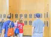 Visiting the Hall of Fame