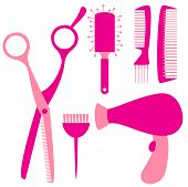 flat hairdressing tools