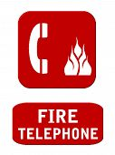 Fire Telephone and Call Box
