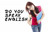 Student Learning English 1