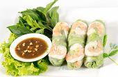 Fresh Roll With Shrimp Inside