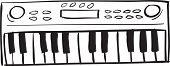 Musical Keyboard Doodle