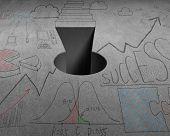 Key Shape Hole With Doodles