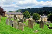 All Saints churchyard, Bakewell.
