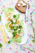 Spring salat