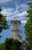 Tower On Mount Akhun