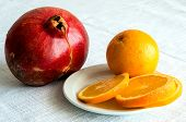 Useful Fruits Garnet And Orange