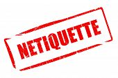 Netiquette stamp