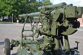 Old Anti-aircraft Gun